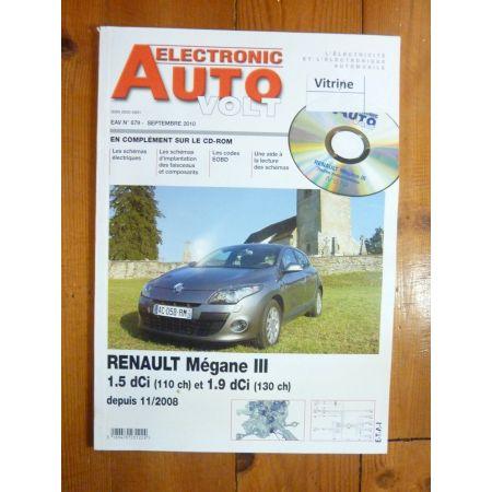 Megane III 08- Revue Technique Electronic Auto Volt Renault