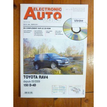 RAV4 09- Revue Technique Electronic Auto Volt Toyota