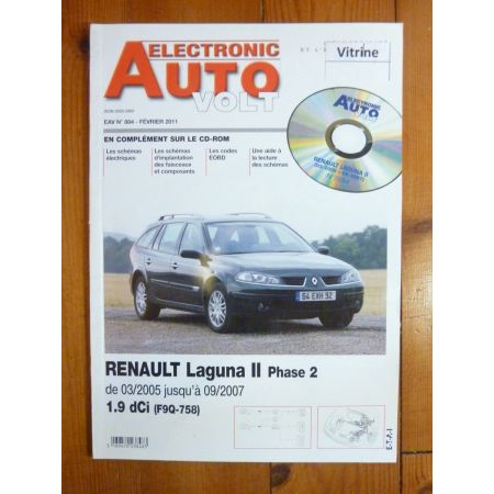 Laguna II Ph 2 Revue Technique Electronic Auto Volt Renault