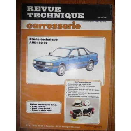 80-90 Revue Technique Carrosserie Audi