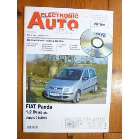 Panda 10- Revue Technique Electronic Auto Volt Fiat