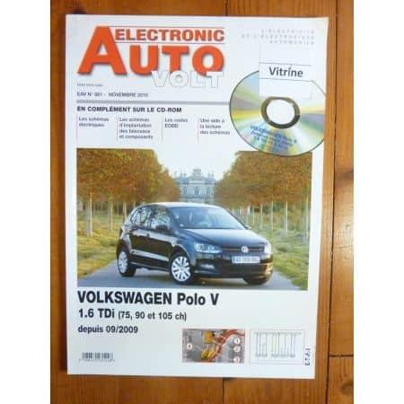 Polo V TDI 09- Revue Technique Electronic Auto Volt Volkswagen