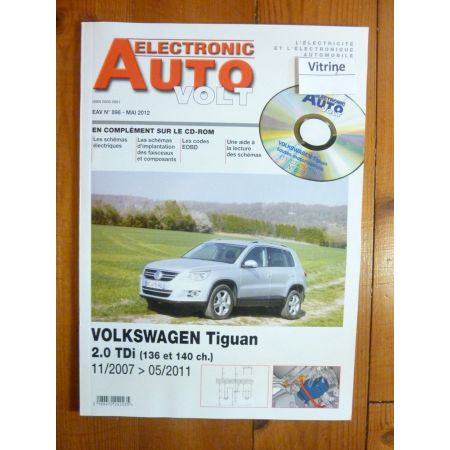 Tiguan D Revue Technique Electronic Auto Volt VW