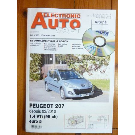 207 10- Revue Technique Electronic Auto Volt Peugeot