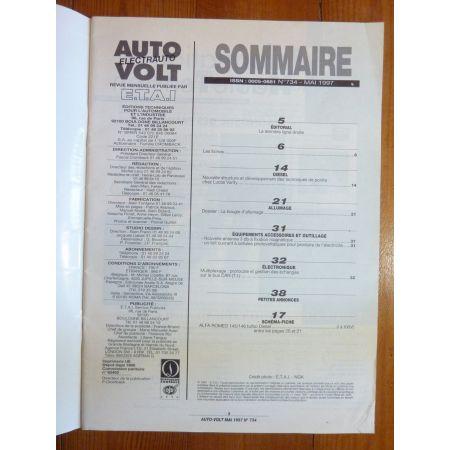 145 146 TD Revue Technique Electronic Auto Volt Alfa Romeo