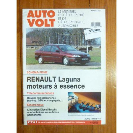 Laguna Ess Revue Technique Electronic Auto Volt Renault