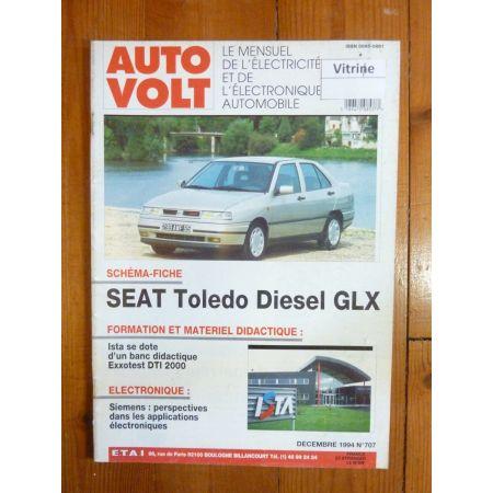Toledo D GLX Revue Technique Electronic Auto Volt Seat
