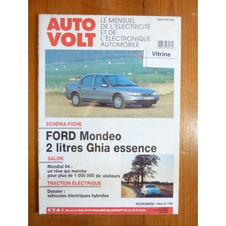 Mondéo Ess Revue Technique Electronic Auto Volt Ford