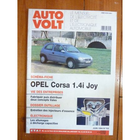 Corsa JOY Revue Technique Electronic Auto Volt Opel