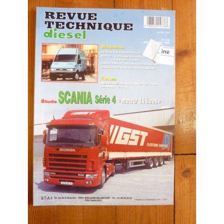 Série 4 14l Revue Technique PL Scania