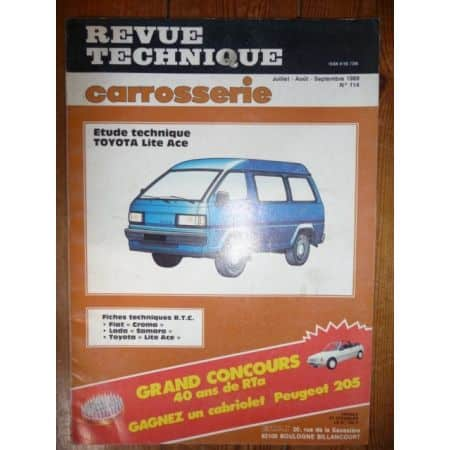 Lite Ace Revue Technique Carrosserie Toyota