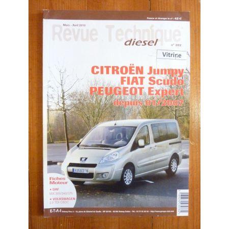 Jumpy Scudo Expert 07- Revue Technique Citroen Fiat Peugeot