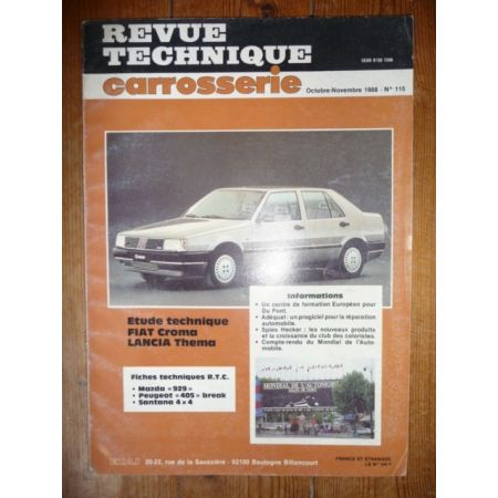 Croma Thema Revue Technique Carrosserie Fiat