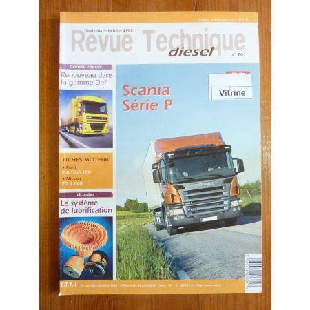 Série P Revue Technique PL Scania