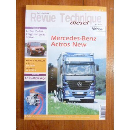 Actros New Revue Technique PL Mercedes