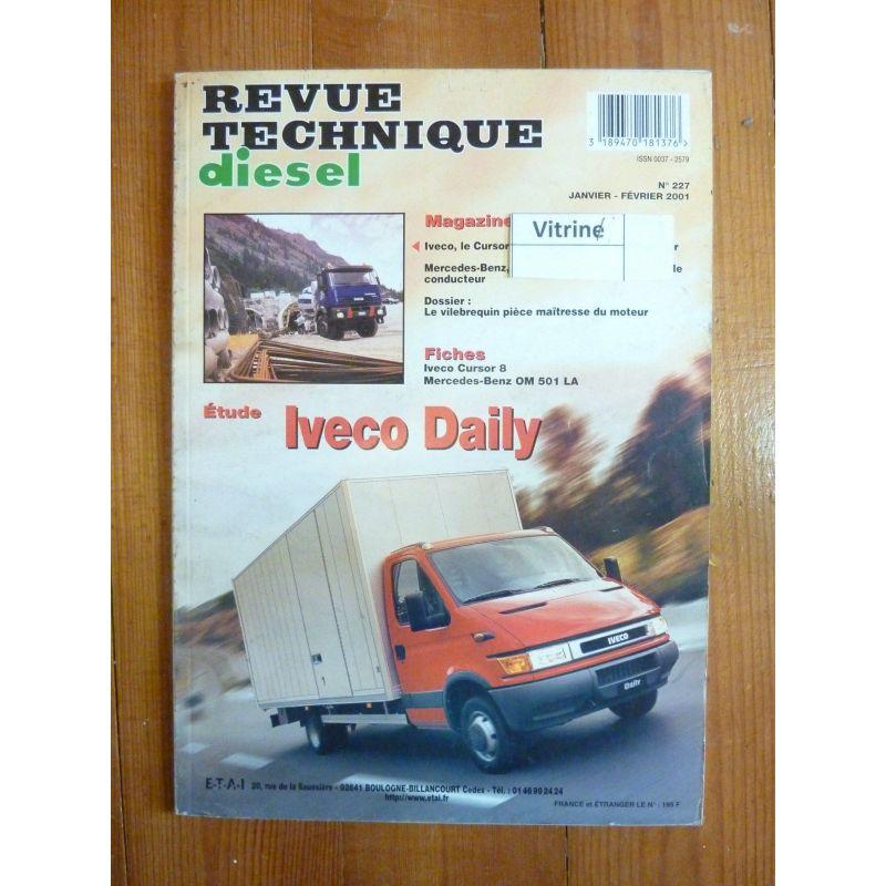 rta revue technique utilitaires iveco daily. Black Bedroom Furniture Sets. Home Design Ideas