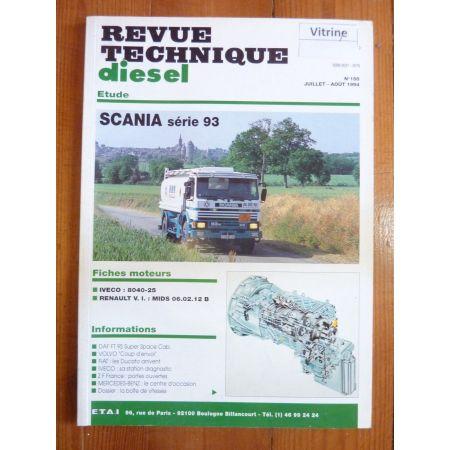 Série 93 Revue Technique PL Scania