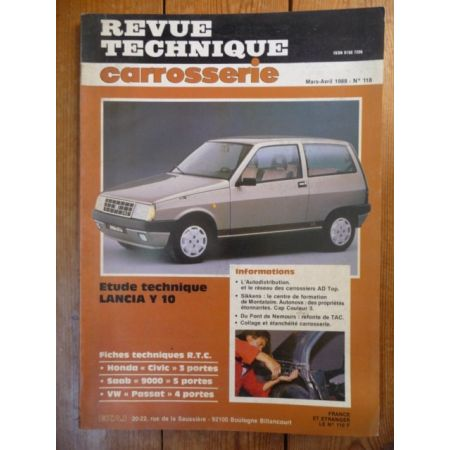 Y10 Revue Technique Carrosserie Lancia