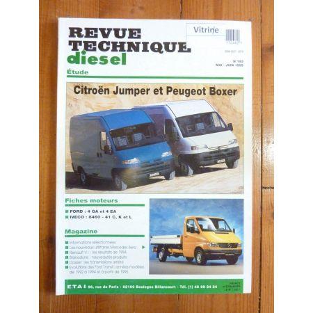 Jumper Boxer Transit Revue Technique Citroen Peugeot Ford