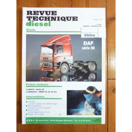 RTD0185D Revue technique Poids-Lourds DAF Série 85