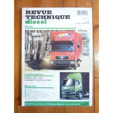 L2000 Revue Technique PL Man Saviem Renault