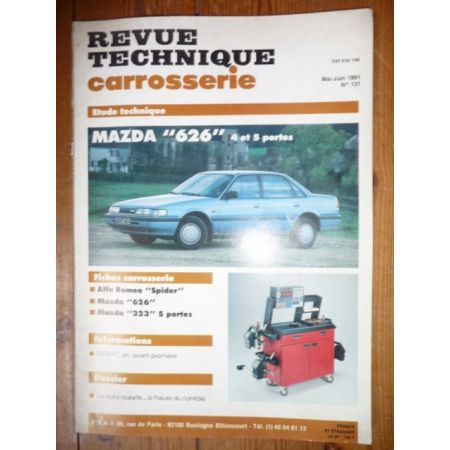 Revue Technique Carrosserie Mazda