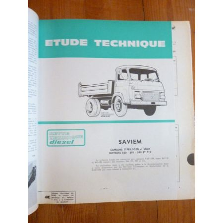 SG2D SG4D Revue Technique Saviem Man Renault