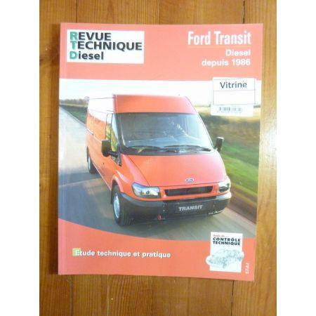 rta revue technique utilitaires ford transit a0407 diesel. Black Bedroom Furniture Sets. Home Design Ideas