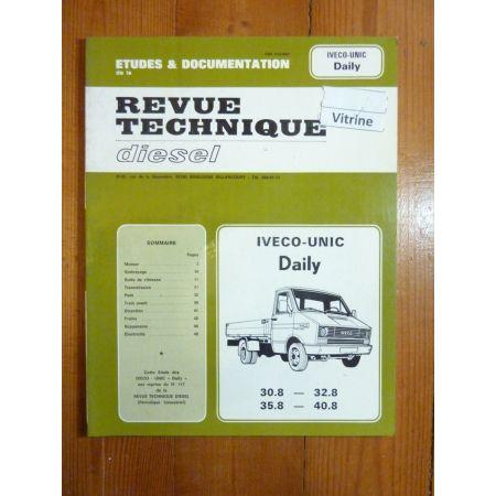 Daily 30.8- 32.8- 35.8- 40.8 Revue Technique Iveco