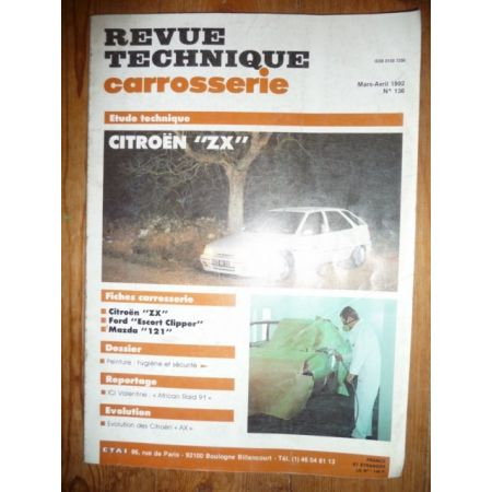 ZX Revue Technique Carrosserie Citroen