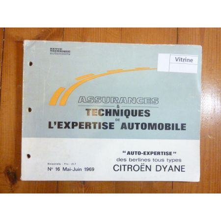 Dyane Revue Auto Expertise Citroen