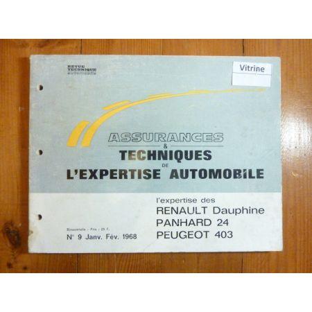 Dauphine 24 403 Revue Auto Expertise Panhard