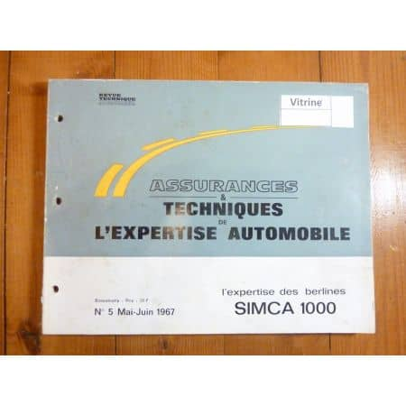 1000 Revue Auto Expertise Talbot Simca