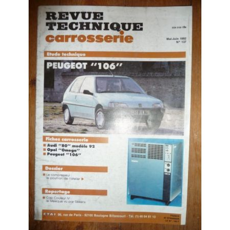 106 Revue Technique Carrosserie Peugeot