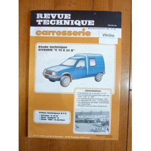 rta revue technique carrosserie citroen c15 diesel et essence. Black Bedroom Furniture Sets. Home Design Ideas