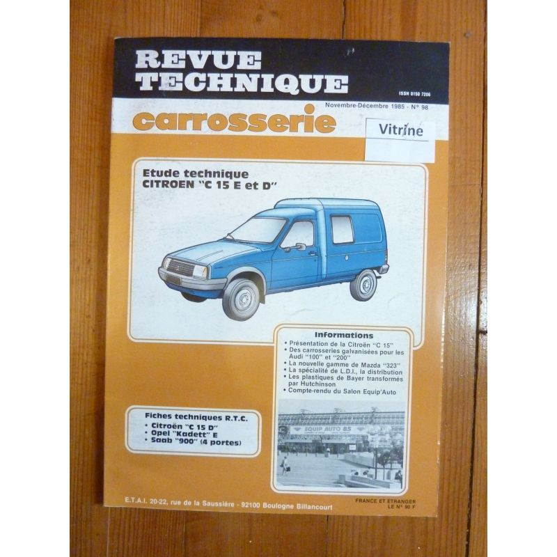 revue technique citroen c15