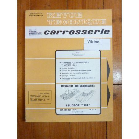 304 Revue Technique Carrosserie Peugeot