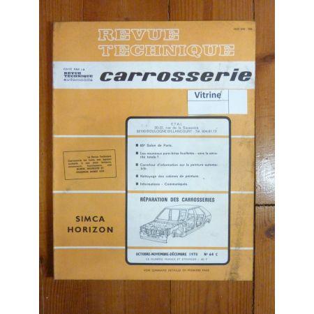 Horizon Revue Technique Carrosserie Talbot Simca
