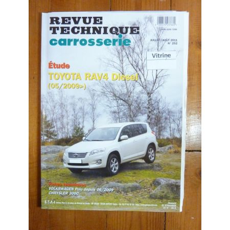 RAV 4 09- Revue Technique Carrosserie Toyota