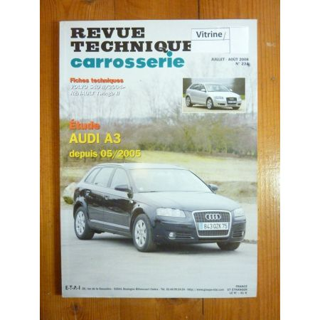 A3 05- Revue Technique Carrosserie Audi