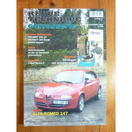 147 Revue Technique Carrosserie Alfa Romeo