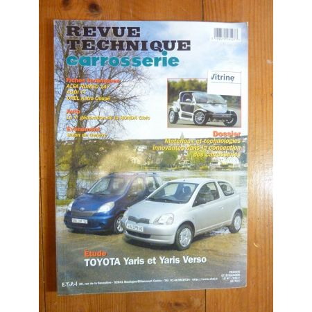 Yaris Verso Revue Technique Carrosserie Toyota