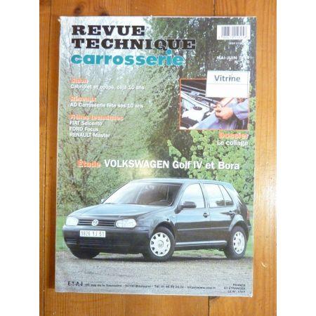 Golf IV Bora Revue Technique Carrosserie Volkswagen