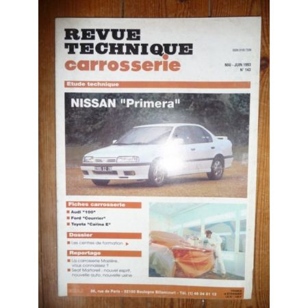 Primera Revue Technique Carrosserie Nissan