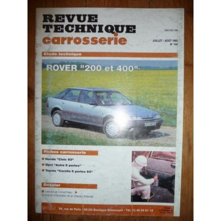 200 400 Revue Technique Carrosserie Rover MG