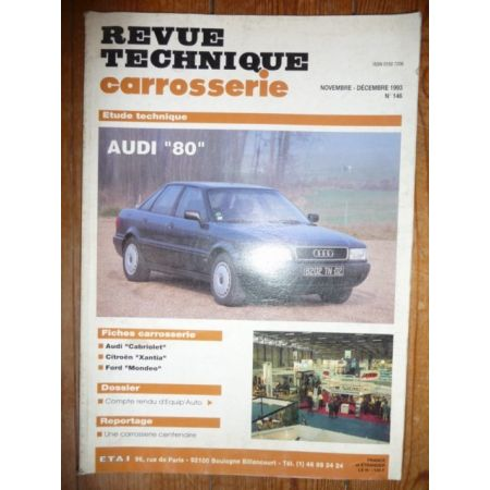 80 Revue Technique Carrosserie Audi
