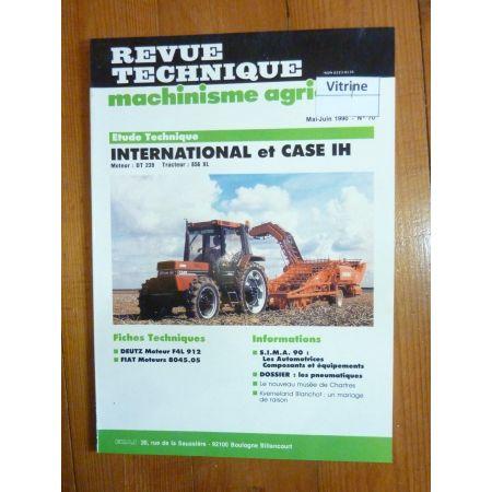 856XL Revue Technique Agricole IH