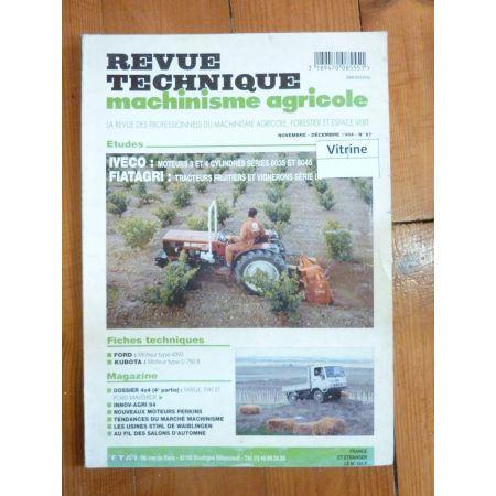 Série 86 Revue Technique Agricole Fiat Someca Iveco