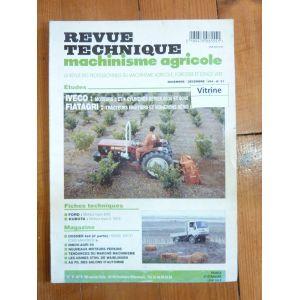 revue technique fiatagri tracteurs s rie 86 iveco moteurs 3 4 cylindres 8035 et 8045. Black Bedroom Furniture Sets. Home Design Ideas