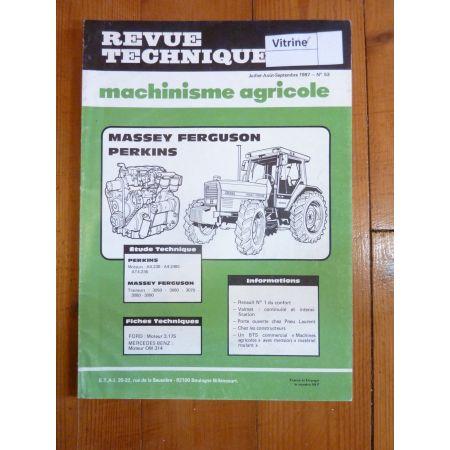 3050 3060 3070 3080 3090 Revue Technique Agricole MF